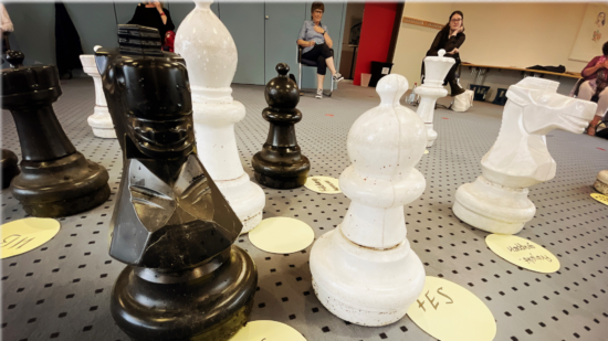 Bildungslandschaft SPD – mit Schachfiguren