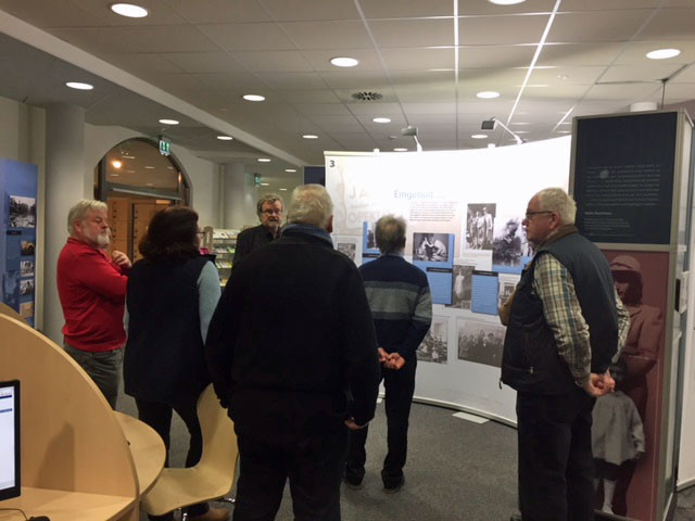 Besuch der Anne Frank-Ausstellung