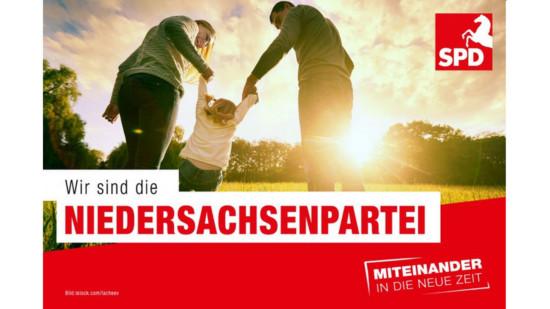 Wir sind die Niedersachsenpartei